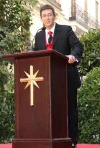 Ivan Arjona en la celebración del 30 Aniversario en España